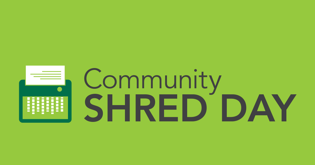 Direct Insurance Login >> Community Shred Day - Veridian