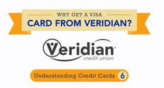 Why Get a Visa Card from Veridian?