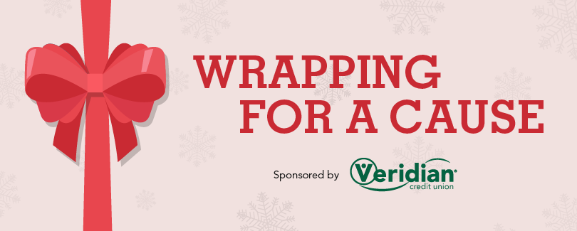 Holiday gift wrapping benefitting The Arc of East Central Iowa