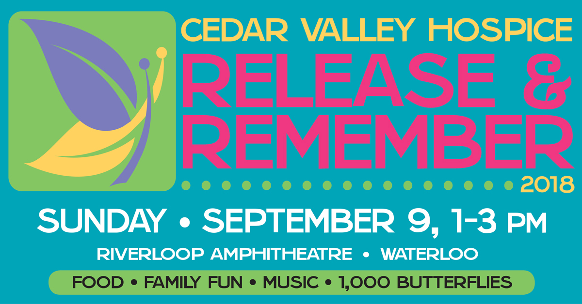Cedar Valley Hospice Release And Remember Cv Events Veridian