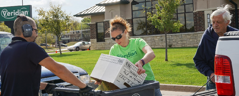 Iowans shred sensitive documents at Veridian Community Shred Day