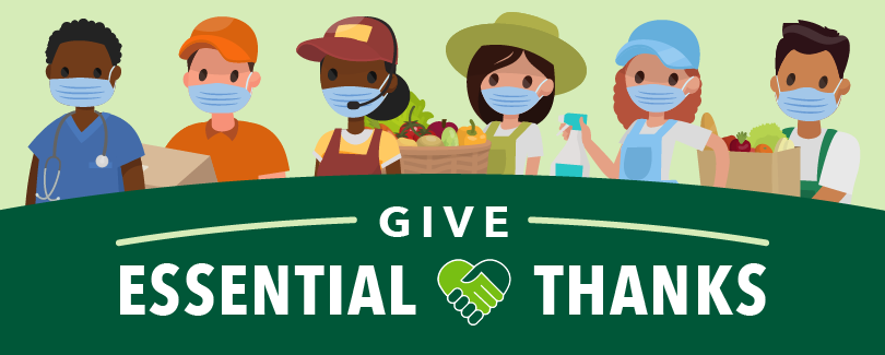 Essential workers - Give Essential Thanks