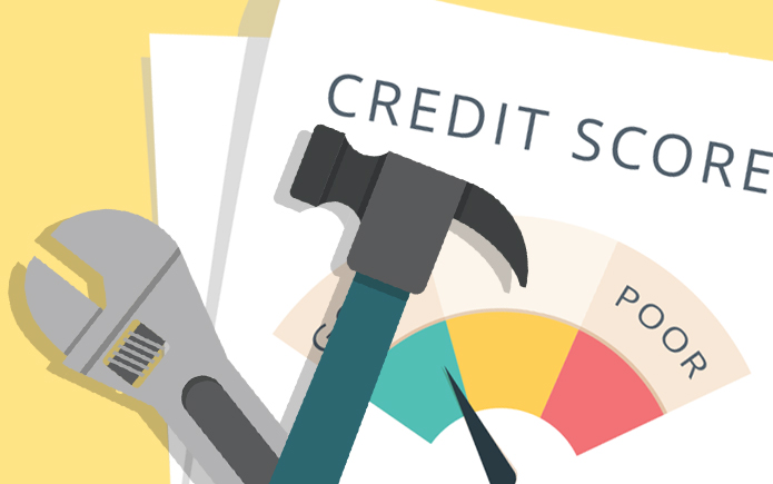 Fixing your credit score